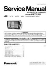 Buy Panasonic CQ-VD5005L Service Manual with Schematics by download Mauritron #266467