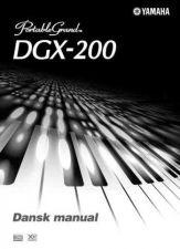 Buy Yamaha DGX200 DA Operating Guide by download Mauritron #247403