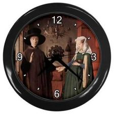 Buy Arnolfini Wedding Jan Van Eyck Art Kitchen Bar Wall Clock