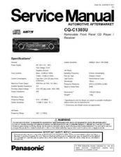 Buy Panasonic sm00cq5302u Service Manual by download Mauritron #268893