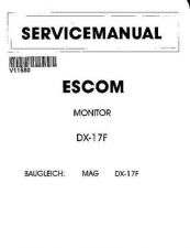 Buy YAKUMO DX17S SERVICE MANUAL by download #110022