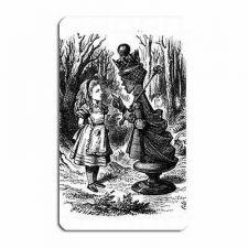 Buy Alice In Wonderland Red Queen Art Vinyl Fridge Magnet
