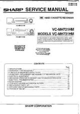 Buy SHARP VCMH731HM SERVICE MANUAL by download #109280