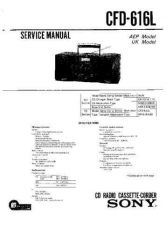 Buy Sony CFD-606 Manual-1662 by download Mauritron #228299