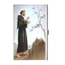 Buy St Francis Patron Saint Of Animals Business Credit Card Holder