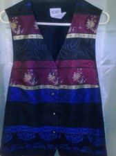 Buy Women's KORET Nice Vest with Gold Trim Size 16