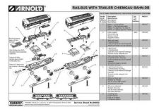Buy Arnold No.052 Railbus With Trailer Chiemgau BAHN-DB HN2011 Views etc by downloa