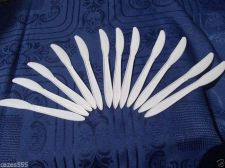Buy 100 PARTY KNIVES, BBQ'S, PICNIC, ASSORTED PLASTIC CUTLERY DISPOSABLE CATERING