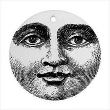 Buy Moon Face Retro Vintage Style Ceramic Ornament