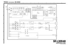 Buy Teac SR-L30DAB SCH Service Manual by download Mauritron #223921