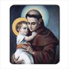 Buy St Anthony Patron Saint Of Lost Items Computer Mouse Pad