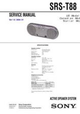 Buy Sony SRS-T88 Manual by download Mauritron #229791