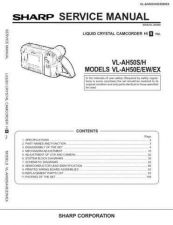 Buy Sharp VL-ME100H Service Manual by download Mauritron #231573