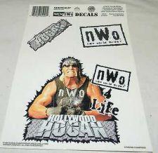 Buy vintage rare 1998 wcw nwo hollywood hulk hogan decal wwe wwf tna nwa wrestling