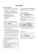 Buy LG GOLDSTAR CF20D73 061BRPL Service Information by download #112771
