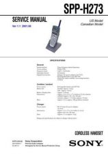 Buy Sony SPP-ID200 Service Manual. by download Mauritron #244435