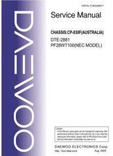Buy Daewoo. TCN830BEF0. Manual by download Mauritron #213953