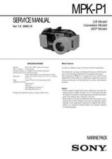 Buy Sony MPK-NA Service Manual. by download Mauritron #242931