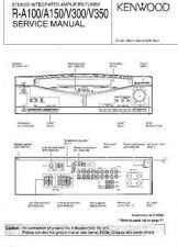 Buy KENWOOD RA100 RA150 RAV300 RAV350 Technical Information by download #118802