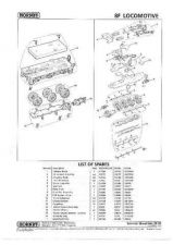 Buy Hornby No.261B Class 8F Service Sheets by download Mauritron #207019