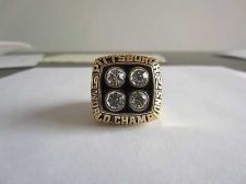 Buy 1979 Super bowl XIV CHAMPIONSHIP RING Pittsburgh steelers MVP Terry Bradshaw 11S