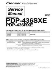 Buy Pioneer PDP-436PU (3) Service Manual by download Mauritron #235083