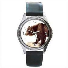 Buy Bear Profile Unisex Animal Art Wrist Watch NEW