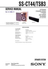 Buy Sony SS-CT360CT560RC360 Service Manual. by download Mauritron #244725