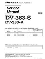 Buy Pioneer DV-383-S by download Mauritron #227624