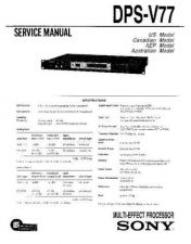Buy Sony DR-EX150UP Service Manual by download Mauritron #240147
