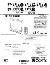Buy Sony KV-27TS29 Service Manual. by download Mauritron #242245