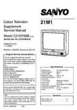 Buy Sony C21ES35B-21MT2[-] Service Manual by download Mauritron #236951
