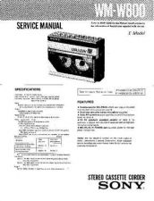 Buy Sony WM-SXF32 Service Manual. by download Mauritron #245880