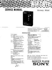Buy Sony WM-DD11 Service Information by download Mauritron #238269