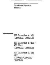 Buy Hewlett Packard HP LASERJET 4 (C2001A) WSM A6839 Technic by download #101179