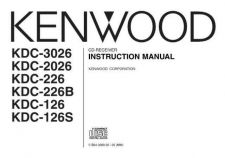 Buy Kenwood KDC-126S by download Mauritron #221471