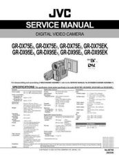 Buy JVC GR-DX75EK SERVICE MANUAL by download Mauritron #220096