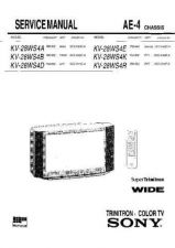 Buy Sony KV-S2026CSERIES all Service Manual. by download Mauritron #242343