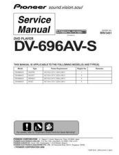 Buy Pioneer DV-K101 (1) Service Manual by download Mauritron #234475