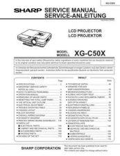 Buy Sharp. XG-NV3XU_9 Service Manual by download Mauritron #211982