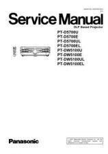Buy Panasonic PT-DW5100EL Service Manual by download Mauritron #268360