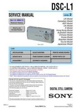 Buy Sony DSC-P10P12 (1) Service Manual by download Mauritron #240203