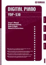 Buy Yamaha YDPS30 EN OM A0 Operating Guide by download Mauritron #250320