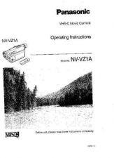 Buy Panasonic NVVZ1 Operating Instruction Book by download Mauritron #236317