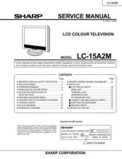 Buy Sharp LC15A2U Service Manual by download Mauritron #209828