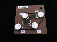 Buy VINTAGE WIRING HARNESS FOR LES PAUL - PIO CAPS - LONG SHAFT POTS - HAND BUILT