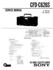Buy Sony CFD-C26S Service Manual by download Mauritron #238781