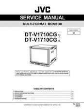 Buy JVC DT-V1710CG -E Service Manual Schematic Circuit. by download Mauritron #270289