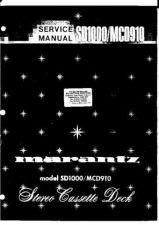 Buy Marantz MCD910, SD1000 Service (A660 by download #106243
