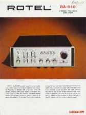 Buy ROTEL RA810 Manual by download Mauritron #230358